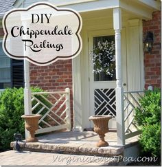 DIY Chippendale Rail