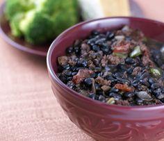 Chorizo Black Bean Soup | 5DollarDinners.com #freezerfriendly