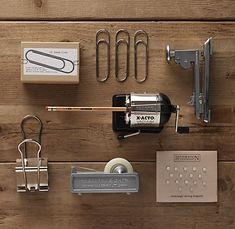 office supplies from restoration hardware