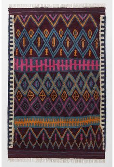 Rugs From Around The World by Jeanine Hays. Eclectic rugs by Anthropologie