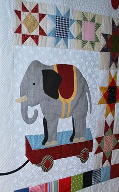 Elephant quilt...for a child