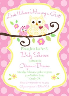 idea, file, prom hairstyles, owl babies, babyshow, baby shower invitations owl, owls, babi shower, baby showers