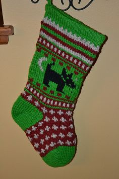 Ravelry: nellieknits' Ellie's Stocking