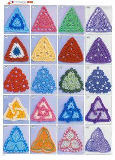 2180 Crochet Motifs - Donna Taylor - Picasa Web Album
