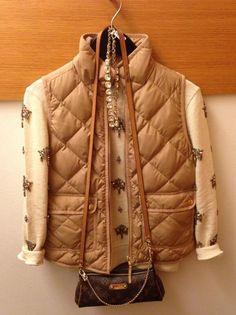 Need that tan jcrew vest