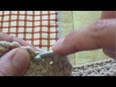 ▶ Crochet: punto margerita o punto Stella - YouTube