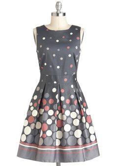 Make the Rounds Dress, #ModCloth