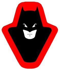 Bat-cycle front emblem