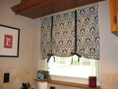 Sweet Simplicity: Kitchen Curtain Project