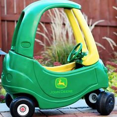 Cozy Coupe Makeover |
