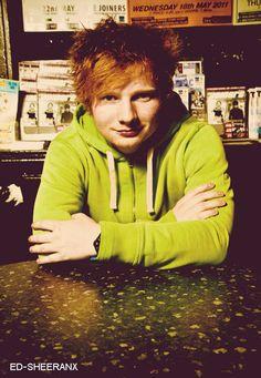 """""""Sheeran. Ed, Sheeran."""""""