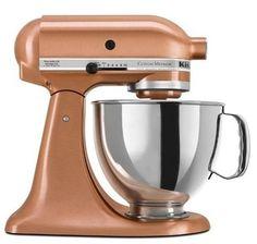 bronzed kitchen-aid