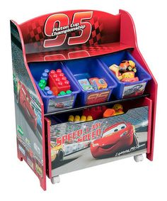 Take a look at this Red Cars Bin Organizer by Delta Children's Products on #zulily today!