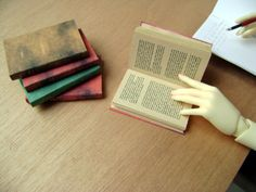 Ancient style Book for SD or MSD sized BJD by DollLifeEmporium, €6.00