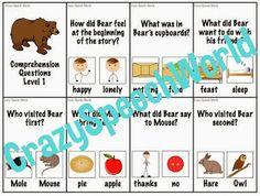 Crazy Speech World: Bear Says Thanks {Book Companion}