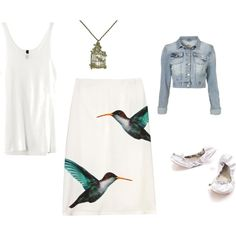 Put a bird on it., created by lauramayes on Polyvore