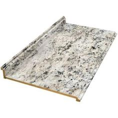 Valencia 8 ft. Laminate Countertop in Typhoon Ice, 495252V8 at The Home Depot - Mobile