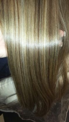 Red Blonde and Carmel Highlights