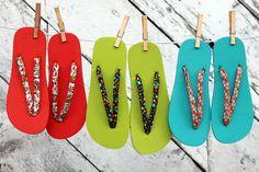 The Beauty of Bias Tape Part 4: Summer Flip Flops | eHow Crafts