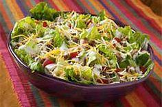 Six-Layer Taco Salad recipe