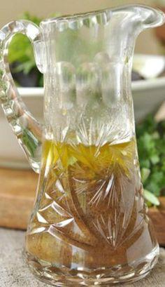 Herb Infused Balsamic Vinaigrette