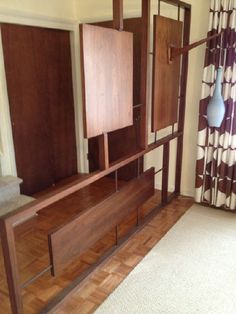 Room divider from Mid Century Modern Estate Sale