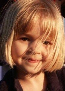 little girl cute hair