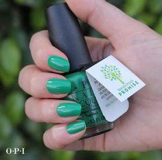 OPI's Limited-Edition Sandy Hook Green Nail Polish - Sandy Hook Promise