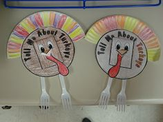 "Turkeys Olson's Crafty Kinders: See What We've Been ""Gobbling"" Up!"