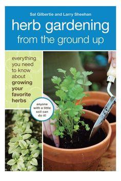 Herb Gardening Book.
