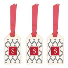 tags, craft, gift ideas, luggag tag, monogram luggag
