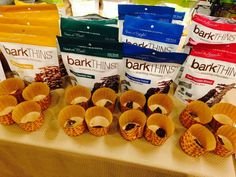 Make sure to check our #twitter page for upcoming demos at a grocery store near you! www.twitter.com/barkTHINS #barkTHINS #snackingchocolate #nongmo #fairtrade
