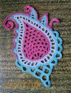 Paisley crochet patterns ~ Craft, handmade blog