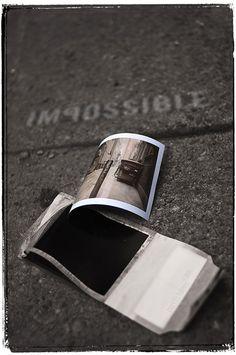 Peel apart film on our first Polaroid camera.