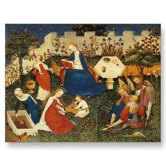 Garden of Eden Medieval Art