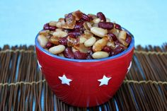 Sweet and Spicy Baked Beans http://kerosabermais.com/sweet-and-spicy-baked-beans/