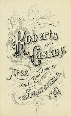 ephemera, vintag graphic, robert, design, caskey, typographi