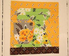 Paper Pieced Kitchen Aid Mixer Pattern.
