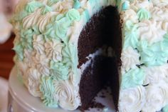 """""""Junky"""" Birthday Cake from Plan to Eat {sneaky real food cake looks like box mix}"""