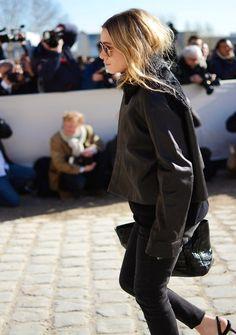 Ashley Olsen | Paris Fashion Week www.redreidinghood.com