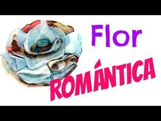 Tutorial: Flor de tela romántica. Romantic fabric flower