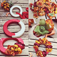 DIY Autumn Wreath diy crafts craft ideas easy crafts diy ideas diy idea diy home easy diy for the home crafty decor home ideas diy decorations autumn crafts autumn diy fall crafts fall diy diy autumn wreath craft wreath