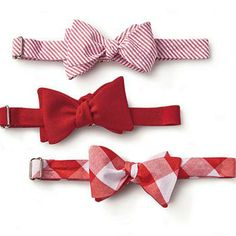 Bow Ties | Lumina Clothing, based in Raleigh, North Carolina, designs dapper bow ties in cheerful patterns and bold shades of crimson. | SouthernLiving.com