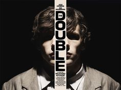 Empire Design's poster for the new Richard Ayoade film The Double