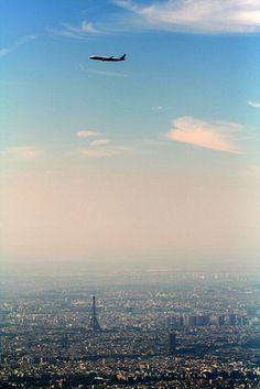 Paris prior to landing