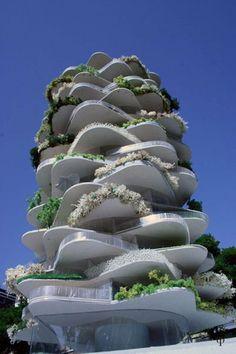 Urban Cactus Building, Netherlands
