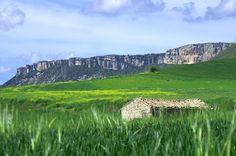Perfil de la Sierra de Urbasa #Navarra