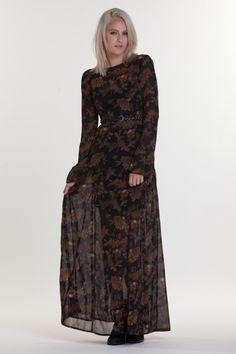 SANTANA DRESS: OBEY