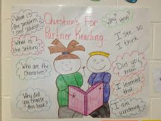 Questions for Partner Reading Anchor Chart