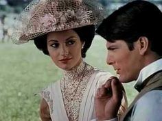 """""""Somewhere In Time"""" - Theme Song by the same name.  Loved this movie for the story and soundtrack...the acting was not always the best, but hey, I'm a real sap when it comes to these kings of movies."""